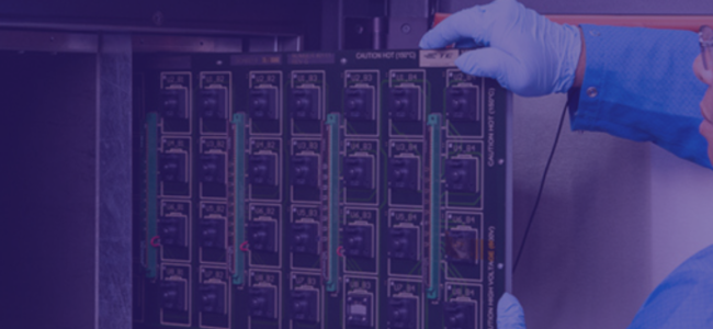 Blog Banner Graphic | What is Burn-in Testing for High-Reliability RF Components?